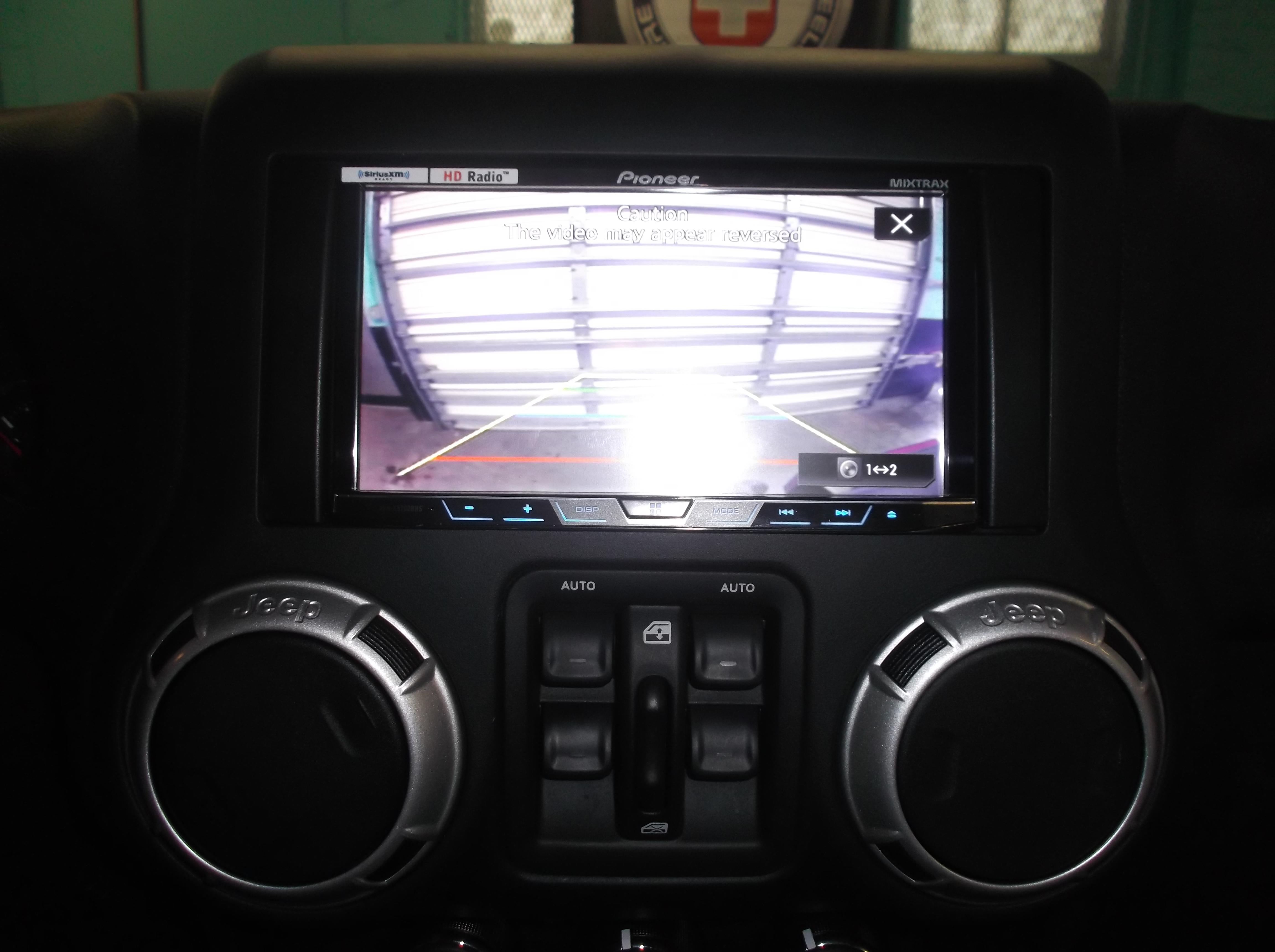 Reverse Camera Installation
