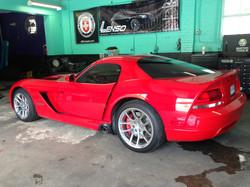 Corvette with Rims