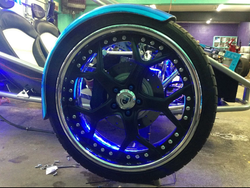 Rims with LEDS