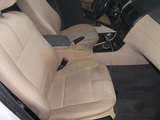 Car Seats before detailing