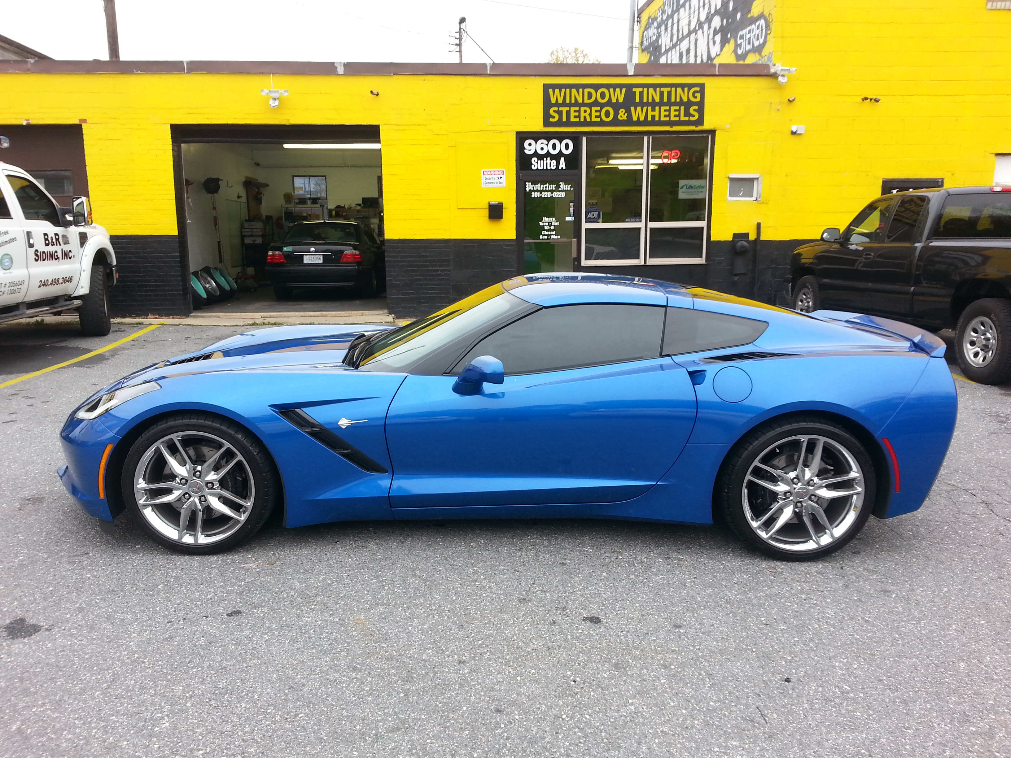 Corvette Window Tint CarToys Marylan