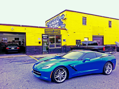 2014 Corvette Stingray C7 Laguna Blue Car Toys Maryland
