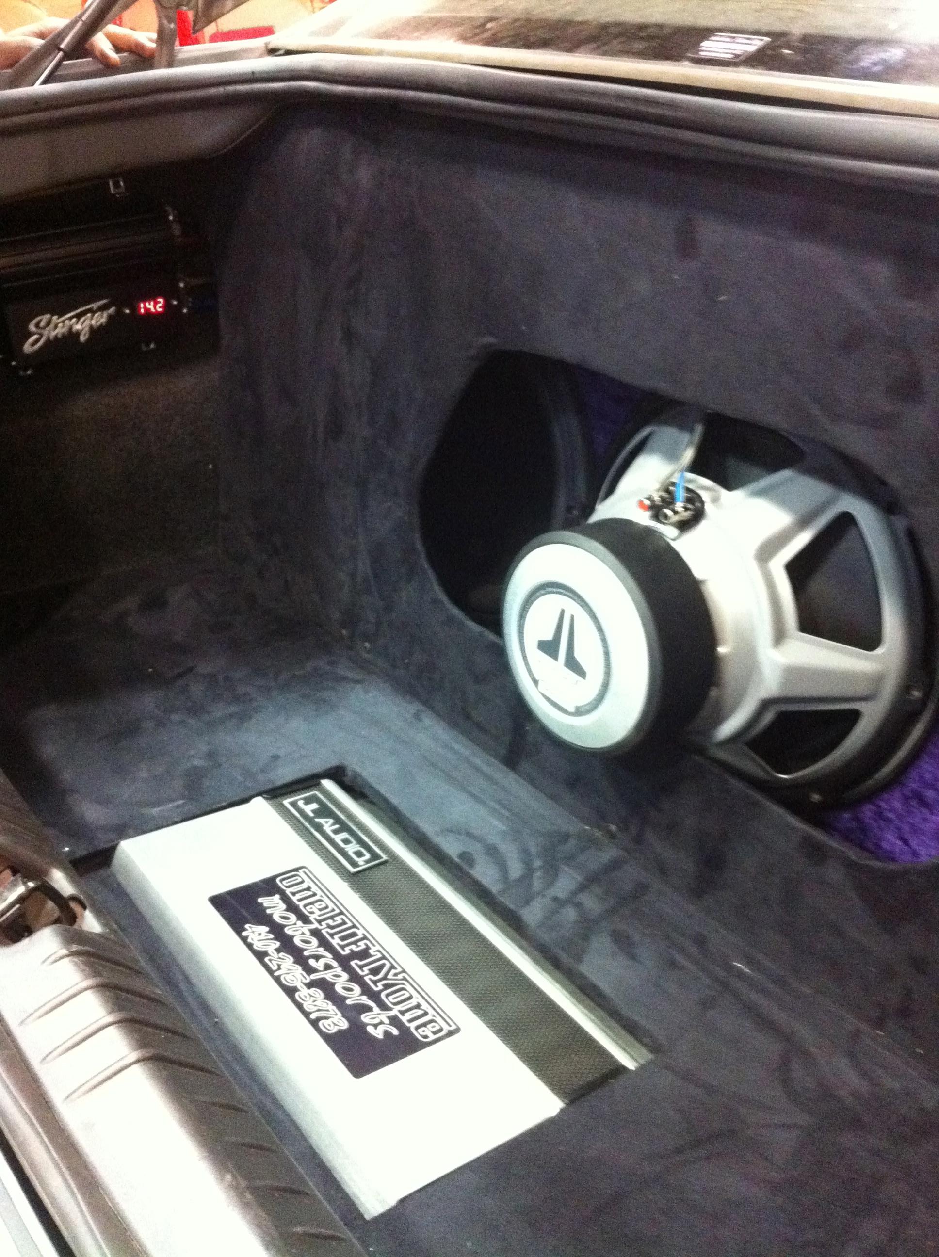 JL Audio Subwoofer