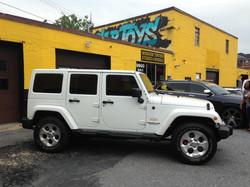 Jeep Window Tint