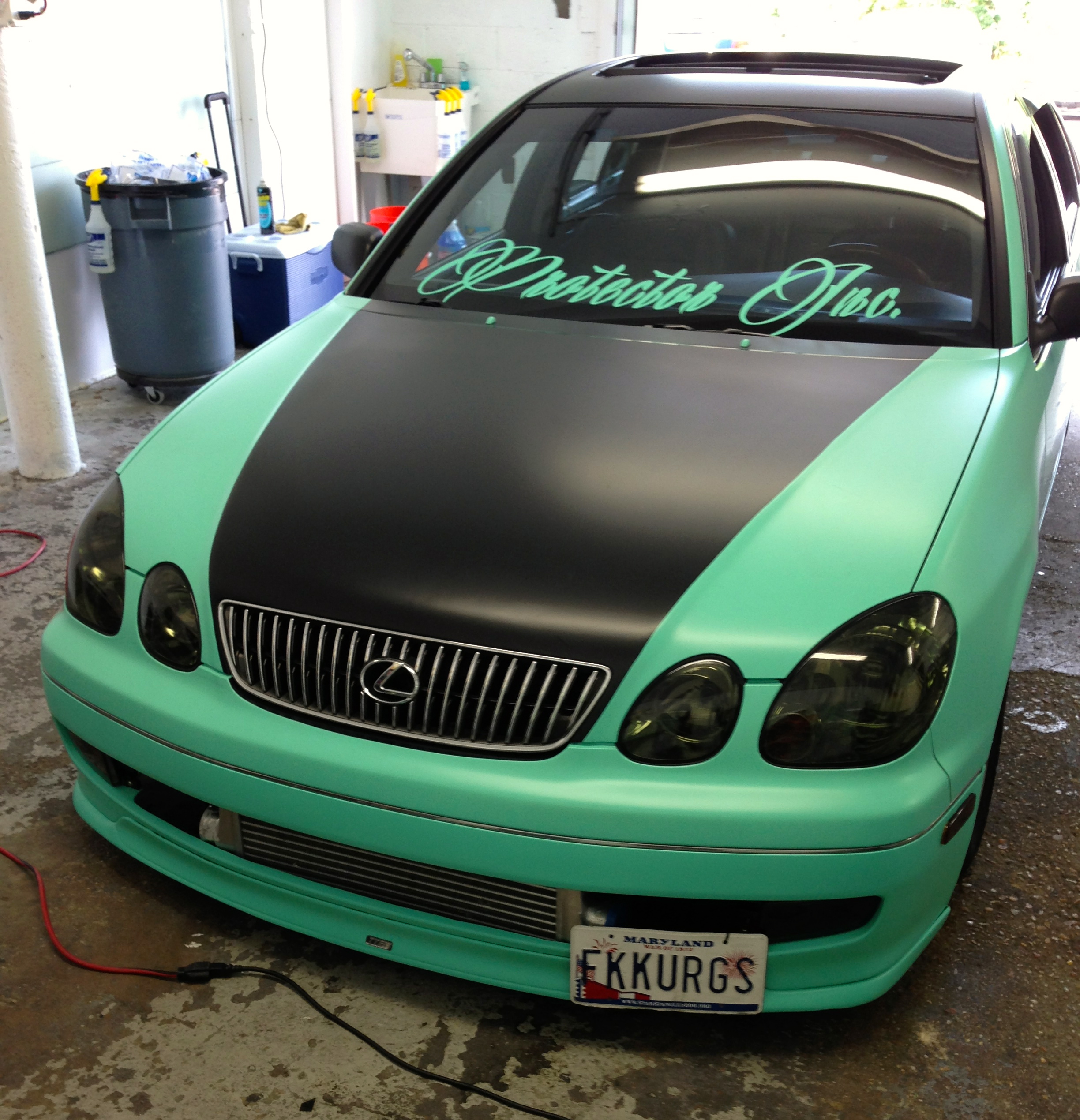 Lexus Paint Job