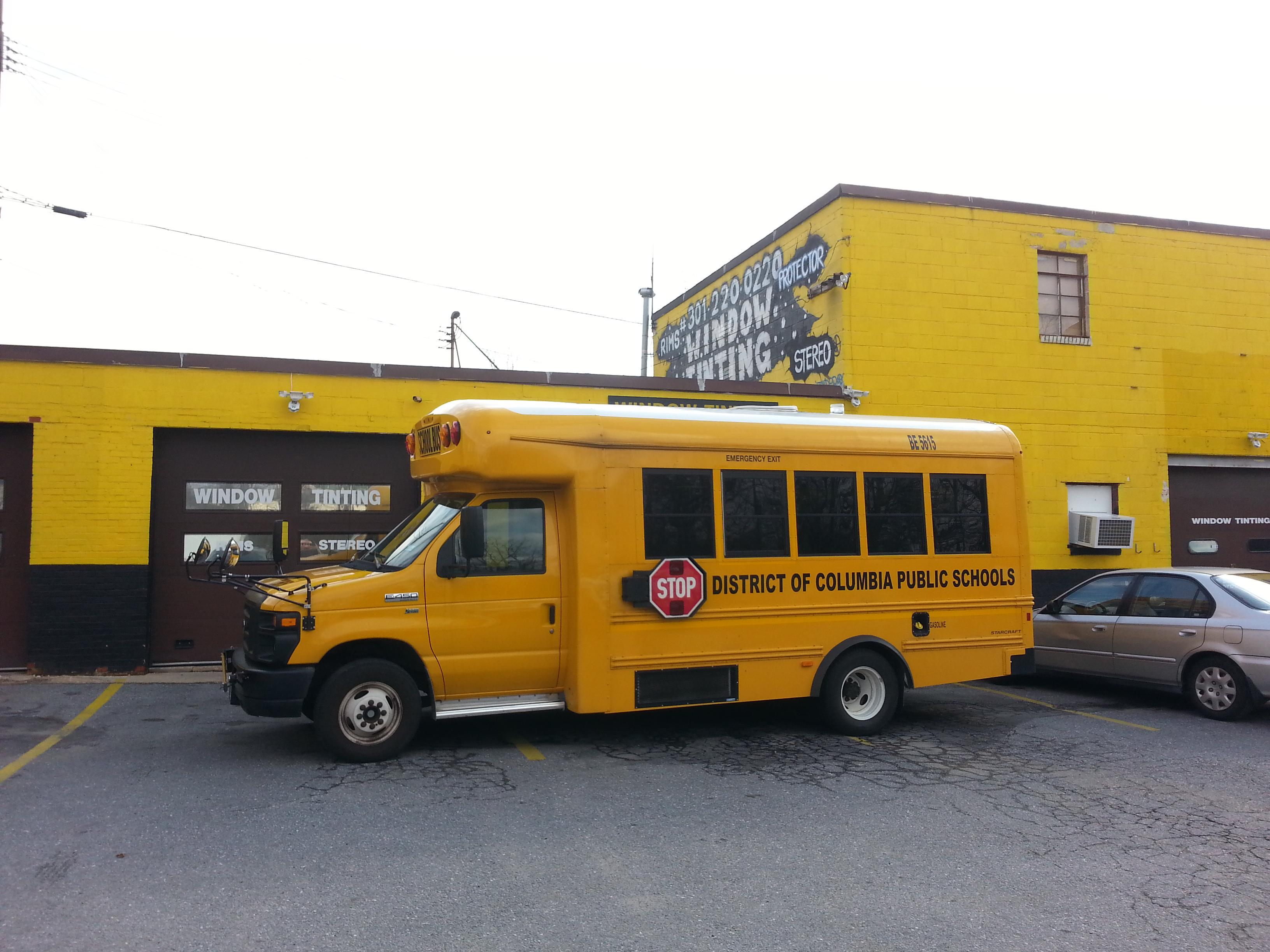 School Bus Window Tint