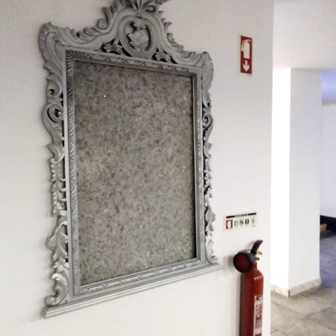 Espelho sem vidro
