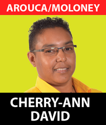 Cherry-Ann David grew up and still resides in the town of Arouca, along the Eastern Main Road. Her extended family environment saw her learn the values of responsibility and community service. This dynamic young lady played a significant role in the local sporting area and youth development in her community, holding positions in Triumph Sports Club and the Garden Village Youth Organisation.  Attending the Arouca Anglican School and then the Arouca North Secondary School where she obtained her CESEC qualifications. She then went on to work for Prime Minister Basdeo Panday for a short period of time.  While being a devoted parent, this young lady remains driven to go beyond her humble upbringings to achieving quality life for those around her. While still living where she was born, a true Aroucan, Cherry-Ann has a passion towards working not only for the betterment for all but reaching out specifically to young women as well as single mothers to ensure they can play a role in local as well as national development.