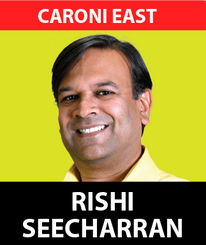 Having served Caroni East diligently as the party's constituency Treasurer, Secretary and Chairman, Dr. Rishad Seecheran is now seeking to represent the people of Caroni East at the Parliamentary level.  As a Qualified General Dental Surgeon, with Post-Graduate Certificates in Dental Implantology and now pursuing Bachelor of Laws with the University of London, Dr. Seecheran is the Owner and Principal Dental Surgeon, DentalPlus Limited.  Over the years, Dr Seecheran has undertaken many projects within this Constituency to assist the vulnerable, homeless and ensure proper educational opportunities for children of Caroni East. Dr Seecheran has played an instrumental role in our party's medical clinics helping hundreds of patients throughout Trinidad while he has supported the work of our party's national youth arm since 2013.  Dr. Seecheran has the vision, drive, and qualifications to continue to record of people-centred representation in Caroni East.