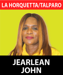 Jearlean John has a track record of entrepreneurial and management excellence for over twenty-five (25) years. She has served as the Managing Director of HDC, Chairman of UDECOTT, CEO of the Pizza Boys Group, Minister of Transport, Tourism and Tobago Affairs, Director of VMSTT (VMCOTT), CEO of PTSC and the Business Development Manager of the UWI St. Augustine along with Board Memberships of T&TEC and YTEPP.  Jearlean John is a Chartered Accountant, Certified Professional Accountant, and Certified Management, Accountant. She holds an MBA from the Edinburgh Graduate School of Business and a Chief Executive Training Certificate from the National University of Singapore.  A woman with a lifetime of service to the people of Trinidad and Tobago, Jearlean or JJ as she is fondly called has been on the ground with the people of La Horquetta Talparo for many years. She previously served as the UNC caretaker for the constituency spearheading numerous charitable and social projects over the years.  Most recently Project Hope has been a major initiative launched and guided by JJ as she works towards enriching and uplifting the community of La Horquetta Talparo. Born in Tobago, JJ has walked many paths, but all have pointed to one direction, the direction of development and service to the people.  Throughout her many years, one thing has always remained certain, her respect and belief in the UNC and its capability to transform Trinidad and Tobago into the first world nation we are destined to become.  Under the leadership of Kamla Persad Bissessar, JJ has seen a leader who is not only capable of making the tough decisions but a woman who has compassion, care, and love for the people, traits that Jerlean believes are necessary for taking T&T forward.  In the coming weeks, JJ is expected to ramp up her campaign to educate and inform the people of La Horquetta Talparo on the plans and policies that she and the UNC has for transforming the constituency. The plans to bring jobs, inves