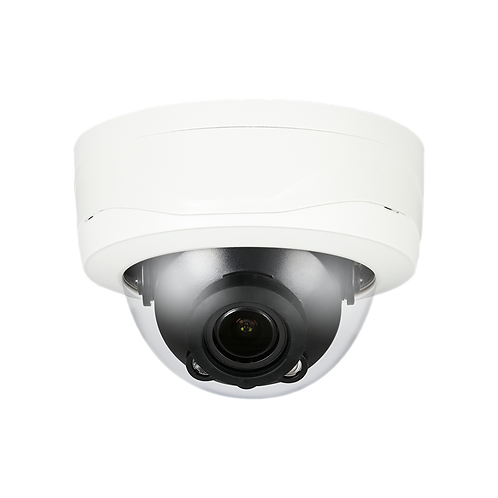 "HD Coaxial Camera, 1/3"" 4MP WDR HD-CVI IR Dome Camera, 2.7-13.5mm Lens, IP67, DC"