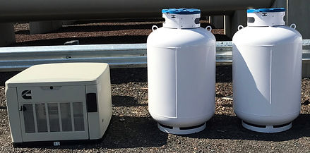 Stand-By Generator With 2, 420 Propane T