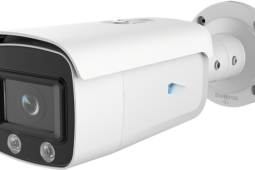 IP Camera, 4MP Full Time Color Fixed Bullet Network Camera