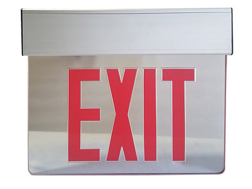 Edge-Lite Exit Sign