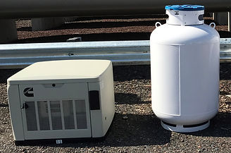 Stand-By Generator With 1, 420 Propane T