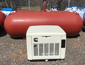 Stand-By Generator With 500 Gal Propane