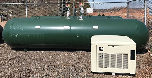 Stand-By Generator With 1,000 Gal Propan