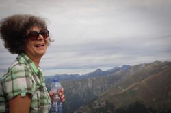 Wanderung auf den Berg Cime della Trossa