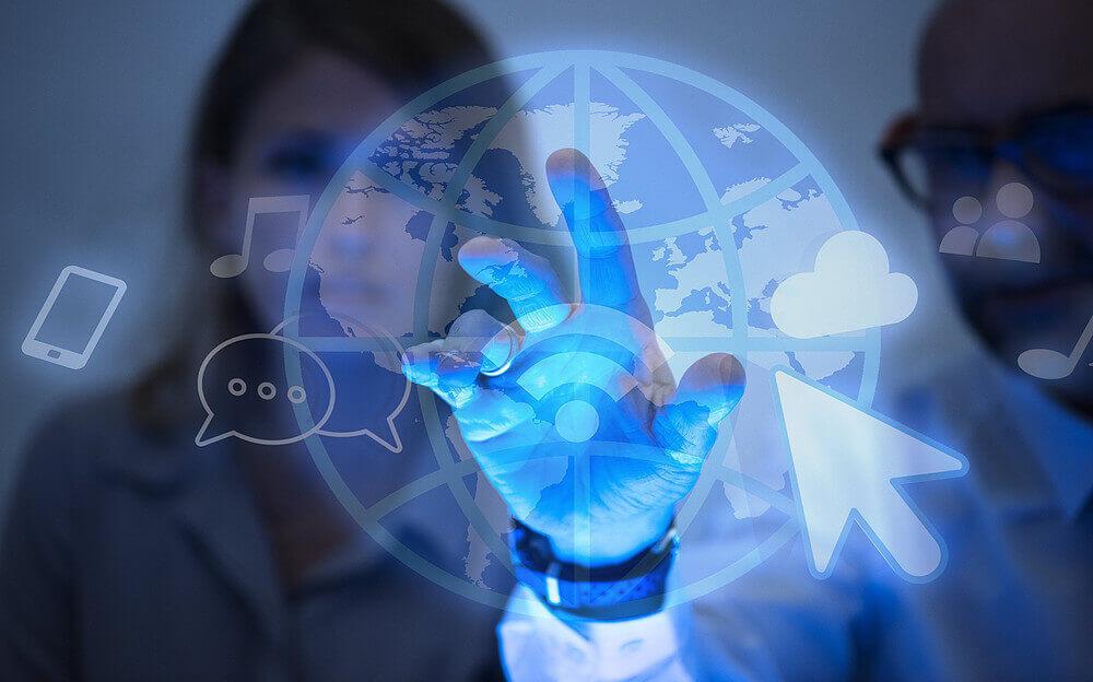 experiência do paciente, representação de internet