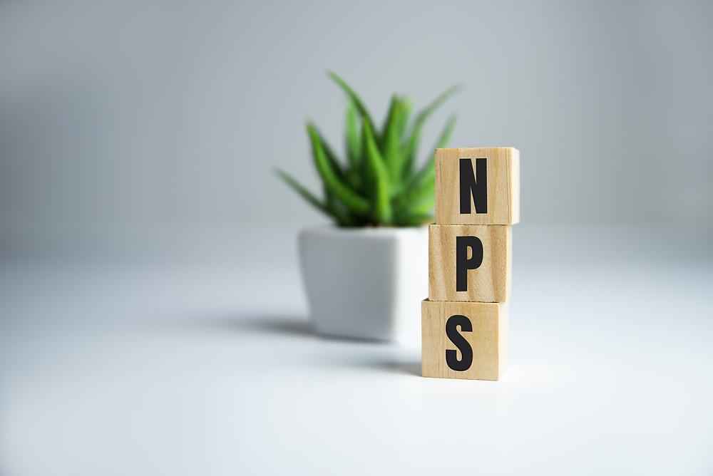 Experiência do paciente, representação da sigla NPS, pesquisa de satisfação do cliente