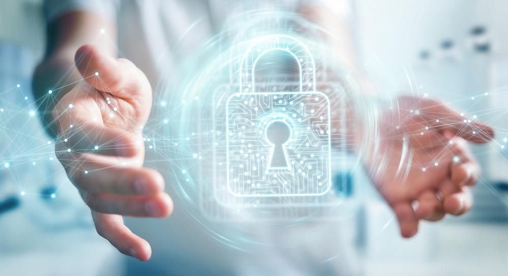 imagem de segurança digital de um prontuário eletrônico
