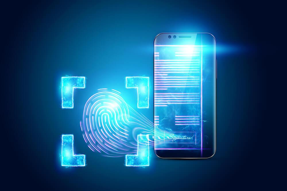 Representação entre assinatura eletrônica e digital