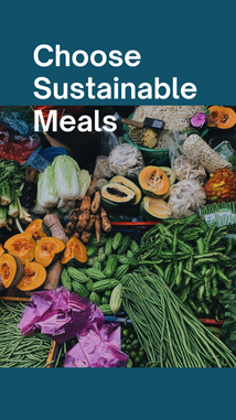 Choose Sustainable Meals