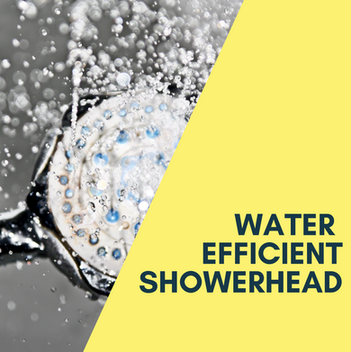 Water Efficient Showerhead