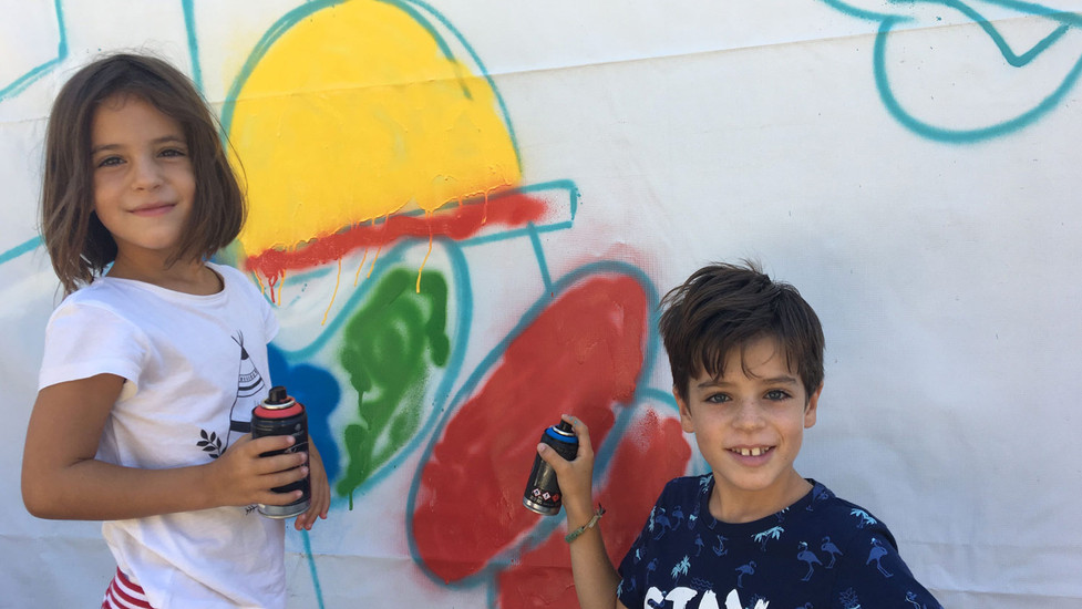 Kids Play at La Nave