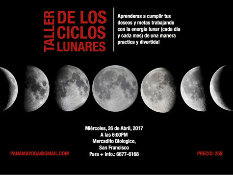 Luna Nueva Tauro (26 de Abril 2017)