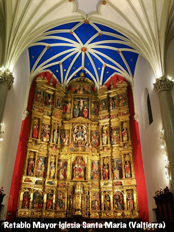 Retablo Mayor de Valtierra