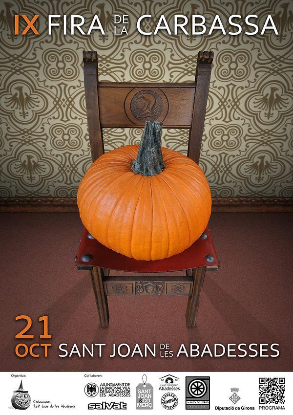 Cartell IX Fira de la Carbassa - Sant Jo