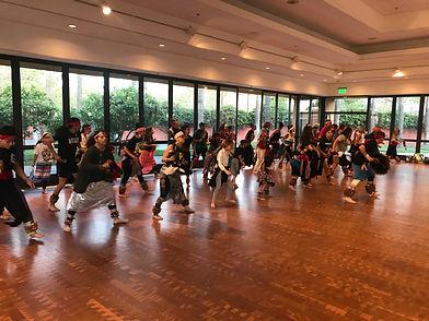 Aztec Dance Practice