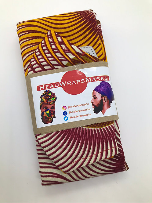 HEADWRAP & MASK Sets