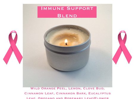 We've just finished pouring these wonderful Massage Candles