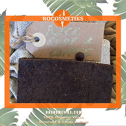 Black Coffee African Soap