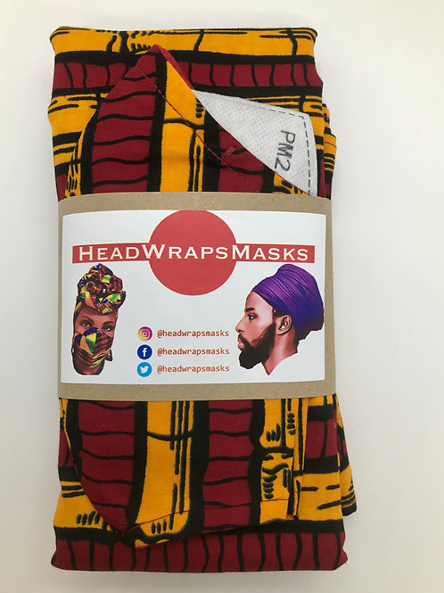 HEADWRAP & MASK Sets
