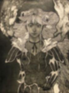 前川弘,銅版画,日本,アーティスト,蔵書票,maekawahiroshi,japan,exlibris,copperplate,etching