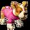"Thumbnail: Dog T-Shirt Dog Shirt with Inspirational Messages ""Camina en Amor Efesios 5:2"""