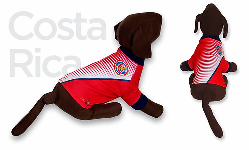 Costa Rica Dog T-Shirt Shirt 2019 Qatar Worldcup