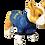 "Thumbnail: Dog T-Shirt Dog Shirt with Inspirational Messages ""Aleluya"""