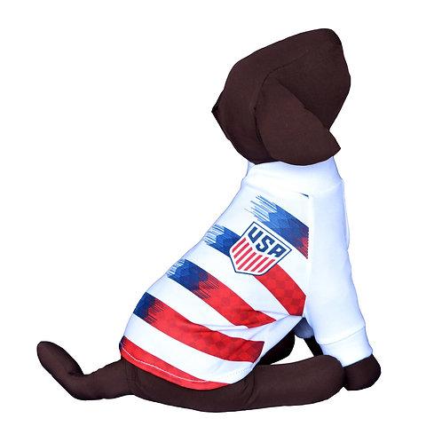 USA Dog T-Shirt Shirt 2019 Qatar Worldcup