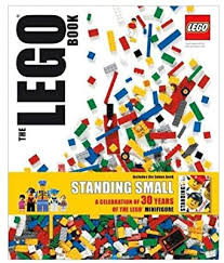 The Lego Book Standing Small