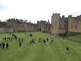 Alnwick Castle,Used for various scenes o