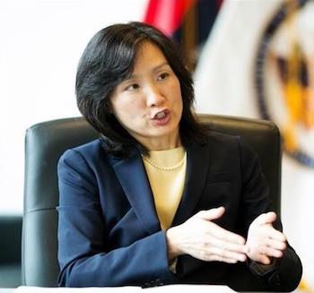 Former USPTO Director, Michelle Lee