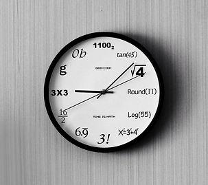 שעון, מתמטיקה