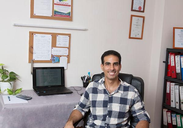רונן סימיאן, מוהר למתמטיקה, בחדר לימוד