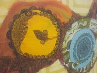 ציור של מעגל צהוב