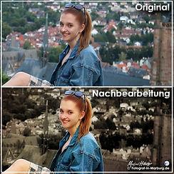 Originalfoto und Nachbearbeitung