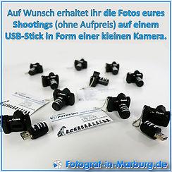 USB-Stick in Form einer Kamera